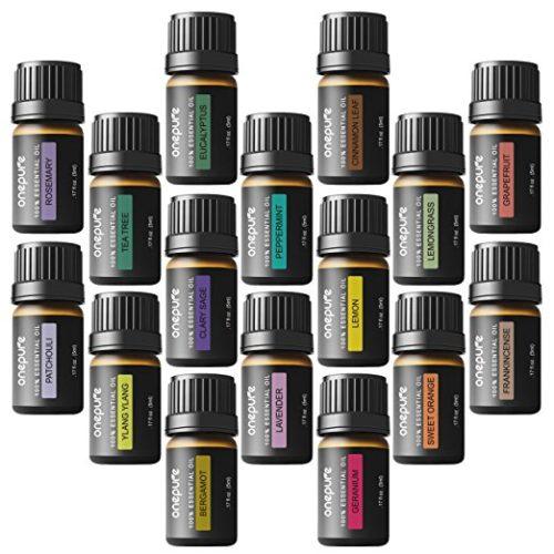 16 Bottles Essential Oils1